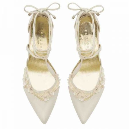 Top of Besina Bloom Freya Rose bridal shoes for 2018