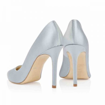 Heel of Charlie Blue Freya Rose bridal shoes for 2018