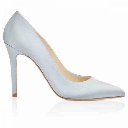 Side of Charlie Blue Freya Rose bridal shoe for 2018