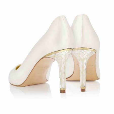 Heel of Chelsea Freya Rose bridal shoes for 2018