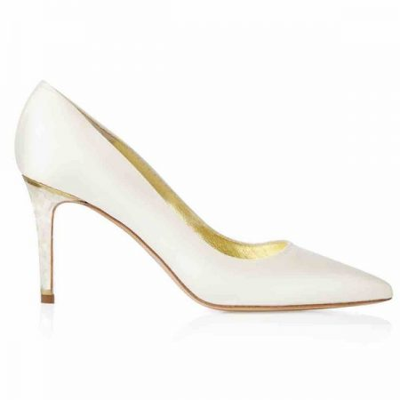Side of Chelsea Freya Rose bridal shoe for 2018