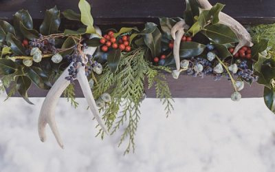 Christmas Wedding Styling Ideas