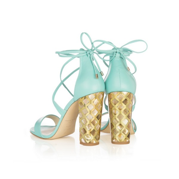 Courtney Blue shoes from the Freya Rose Capsule Collection