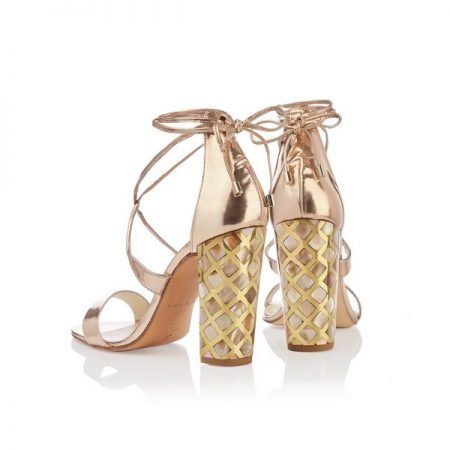 Courtney Rose Gold shoes from the Freya Rose Capsule Collection