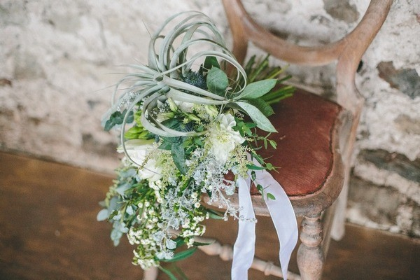 Foliage Bouquet on Chair