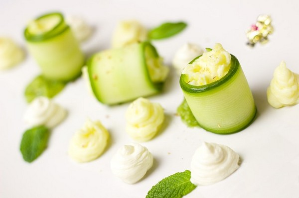 Healthy Cucumber Canapés