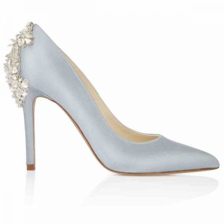 Side of Lottie Freya Rose bridal shoe for 2018