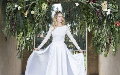 Romantic, Elegant Winter Wedding Inspiration