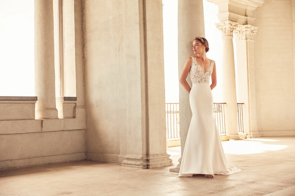Paloma Blanca Spring 2018 Bridal Collection - 4787 Wedding Dress