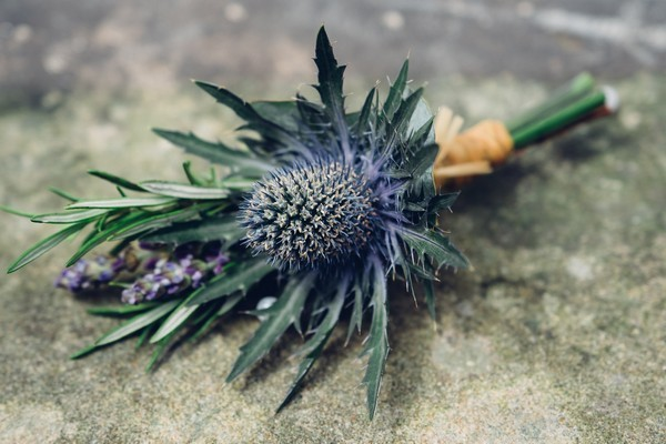 Thistle Tied Style Buttonhole