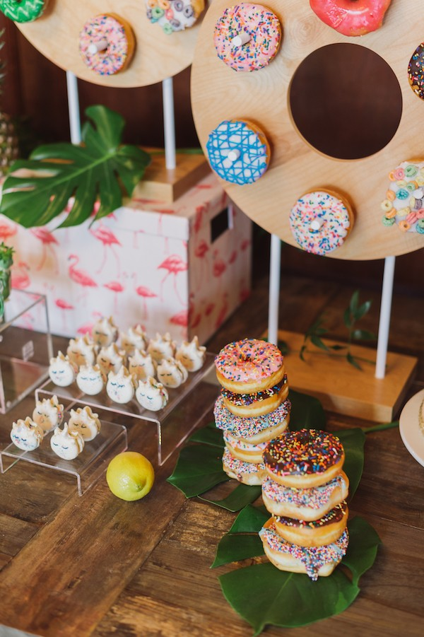 Doughnuts and cakes