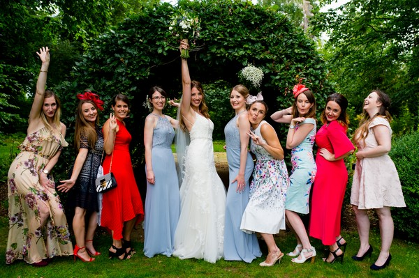 Ladies at wedding