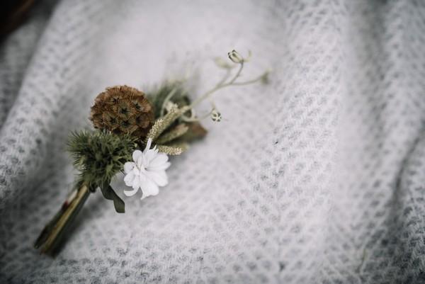Rustic buttonhole