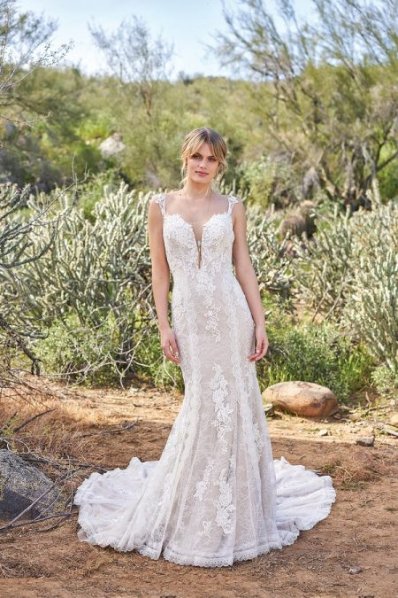 986e6f1b117 6505 Wedding Dress from the Lillian West Spring/Summer 2018 Bridal  Collection