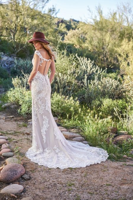 Back of 6506 Wedding Dress from the Lillian West Spring/Summer 2018 Bridal Collection