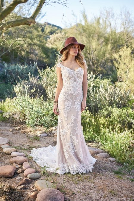 6506 Wedding Dress from the Lillian West Spring/Summer 2018 Bridal Collection