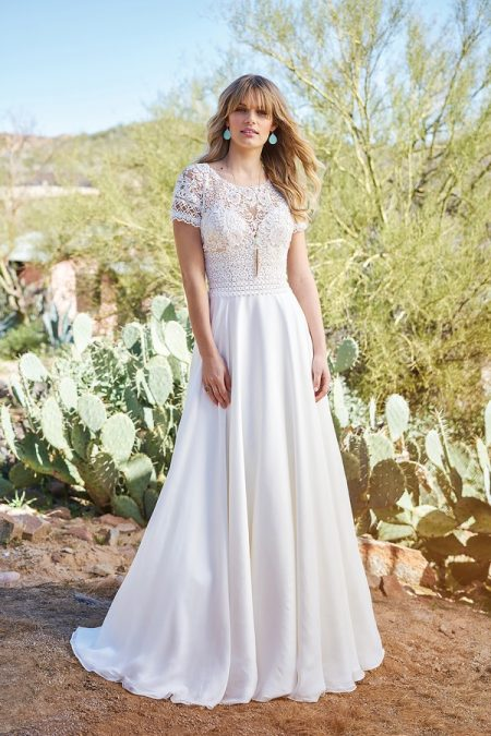 6508 Wedding Dress from the Lillian West Spring/Summer 2018 Bridal Collection