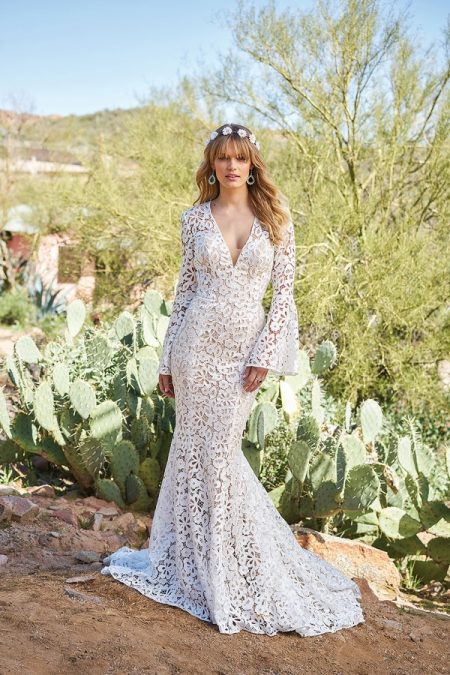 6509 Wedding Dress from the Lillian West Spring/Summer 2018 Bridal Collection