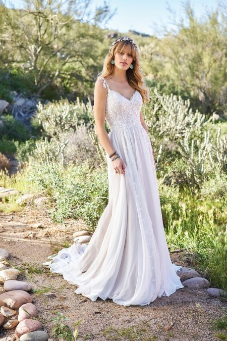 6510 Wedding Dress from the Lillian West Spring/Summer 2018 Bridal Collection