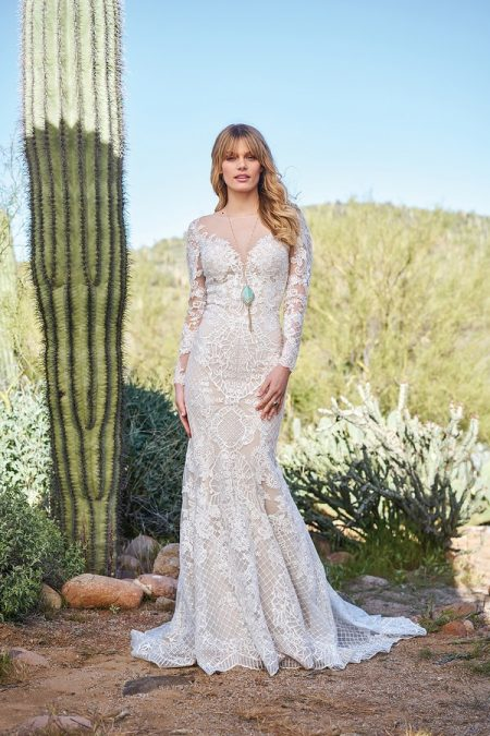 6511 Wedding Dress from the Lillian West Spring/Summer 2018 Bridal Collection