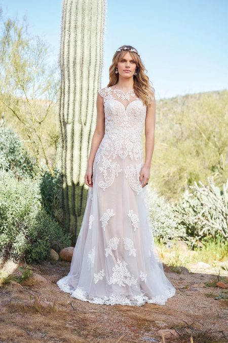 6512 Wedding Dress from the Lillian West Spring/Summer 2018 Bridal Collection