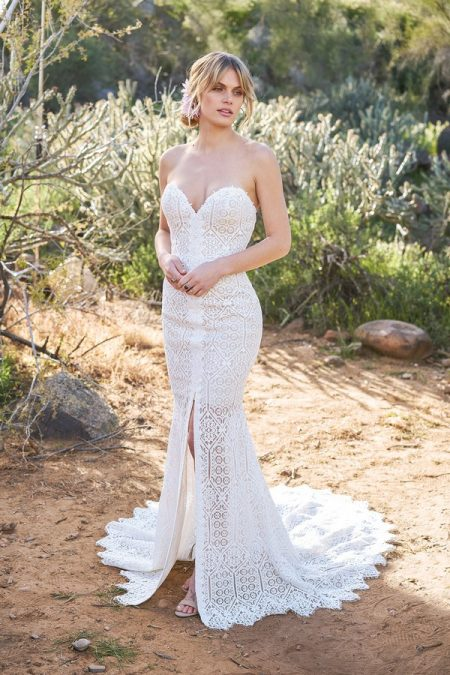 6513 Wedding Dress from the Lillian West Spring/Summer 2018 Bridal Collection