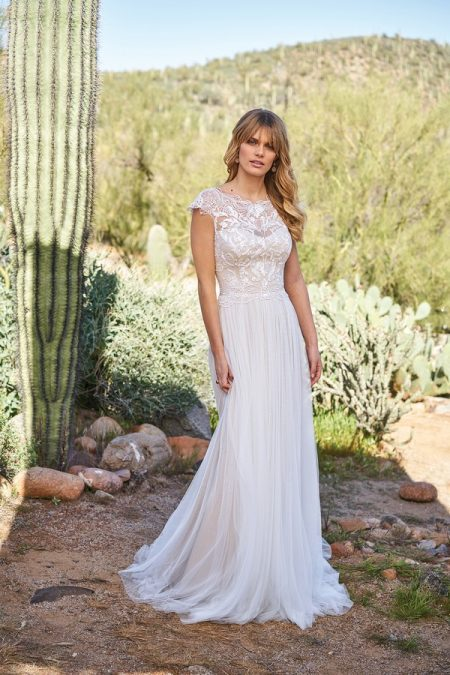 6514 Wedding Dress from the Lillian West Spring/Summer 2018 Bridal Collection