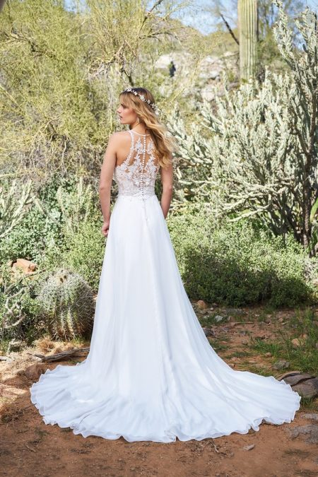 Back of 6515 Wedding Dress from the Lillian West Spring/Summer 2018 Bridal Collection