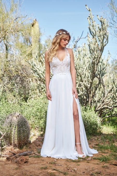 6515 Wedding Dress from the Lillian West Spring/Summer 2018 Bridal Collection