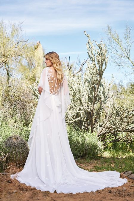 Back of 6517 Wedding Dress from the Lillian West Spring/Summer 2018 Bridal Collection