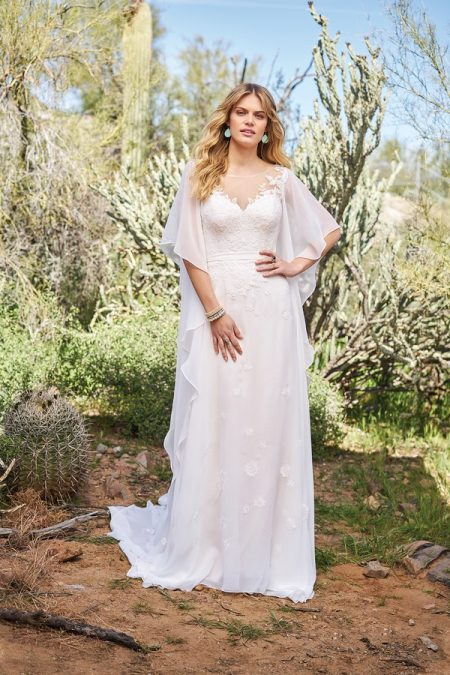 6517 Wedding Dress from the Lillian West Spring/Summer 2018 Bridal Collection