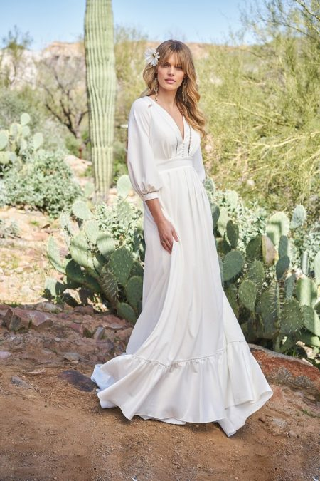 6518 Wedding Dress from the Lillian West Spring/Summer 2018 Bridal Collection