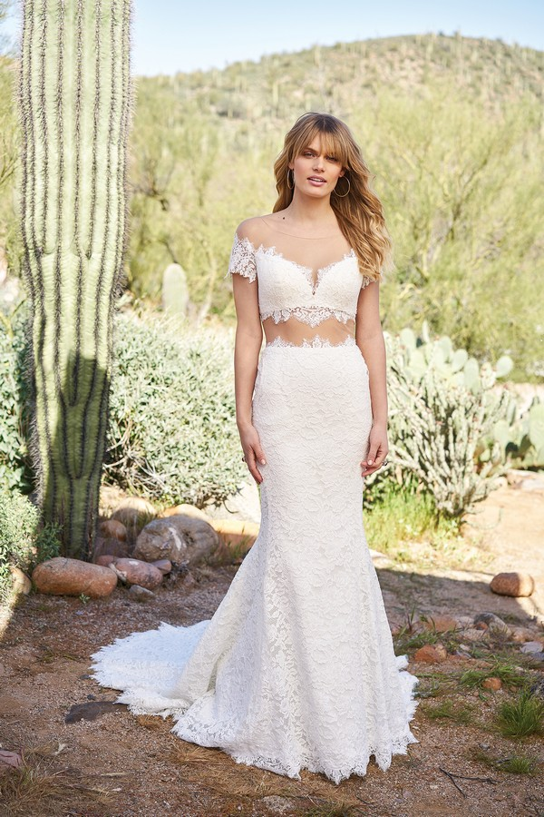 6519 Wedding Dress from the Lillian West Spring/Summer 2018 Bridal Collection