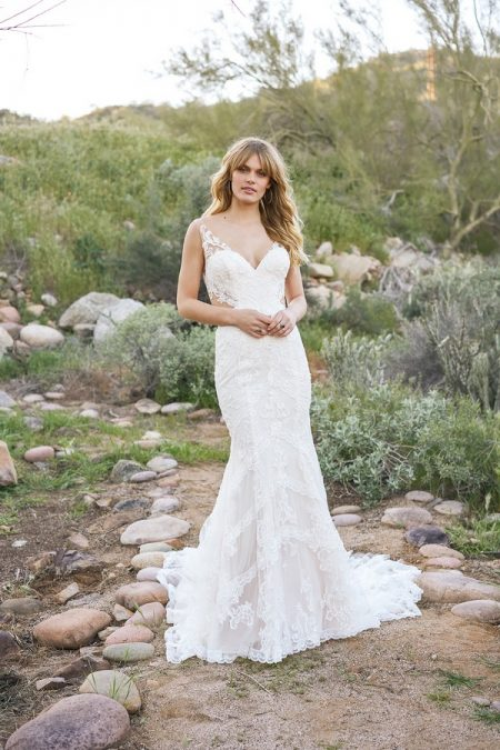 6521 Wedding Dress from the Lillian West Spring/Summer 2018 Bridal Collection