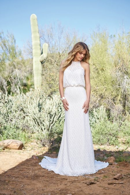 6522 Wedding Dress from the Lillian West Spring/Summer 2018 Bridal Collection