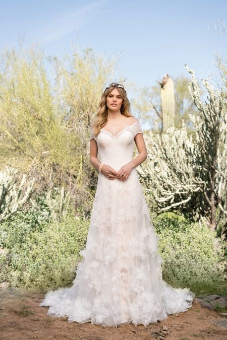 6527 Wedding Dress from the Lillian West Spring/Summer 2018 Bridal Collection