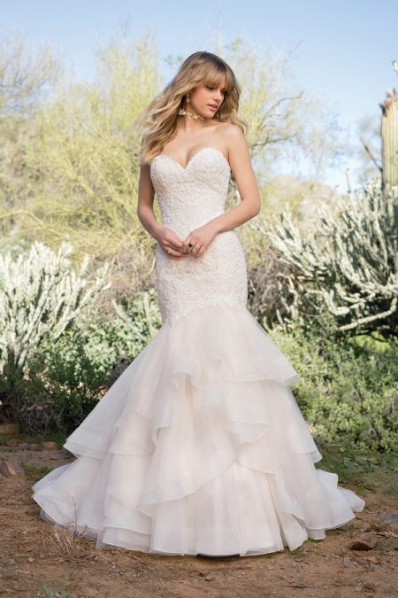 6528 Wedding Dress from the Lillian West Spring/Summer 2018 Bridal Collection
