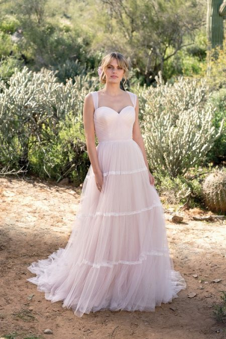 6529 Wedding Dress from the Lillian West Spring/Summer 2018 Bridal Collection