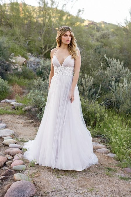 6530 Wedding Dress from the Lillian West Spring/Summer 2018 Bridal Collection