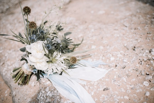 Rustic, natural wedding bouquet