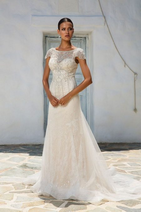 8958 Wedding Dress from the Justin Alexander Spring/Summer 2018 Bridal Collection