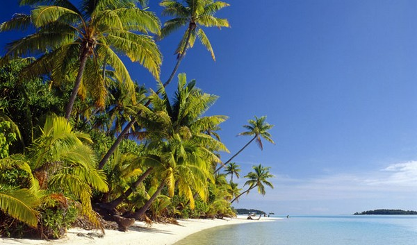 Aitutaki Beach, Cook Islands