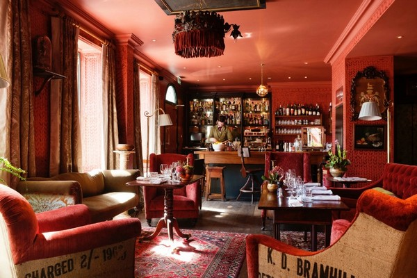 Bar at The Zetter Townhouse, London