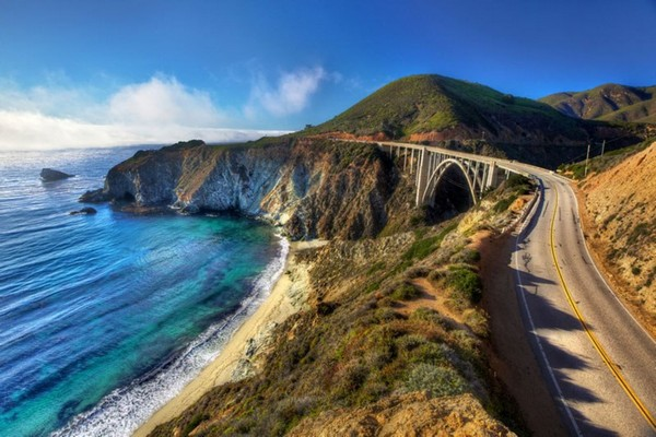Bixby Creek Arch Bridge, California