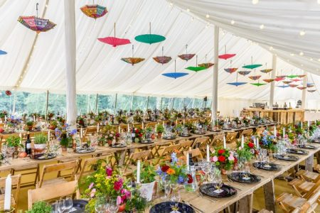 Colour Fusion 2018 Wedding Styling Trend
