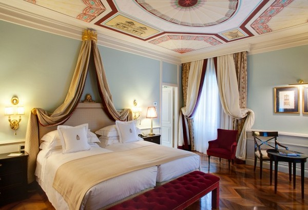Deluxe Room at Grand Hotel Villa Cora, Florence, Italy