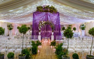 How to Include Ultra Violet Wedding Styling in Your Big Day