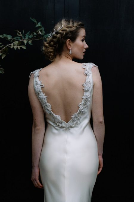Back of Isla Wedding Dress from the Luella's Bridal Expectations 2018 Collection