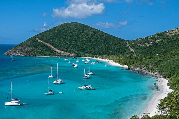 Jost Van Dyke, British Virgin Islands, Caribbean Honeymoon Destination