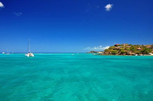 Near Virgin Gorda, British Virgin Islands, Caribbean Honeymoon Destination